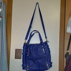 Gorgeous Cobalt Blue Large Deena + Ozzy Crossbody